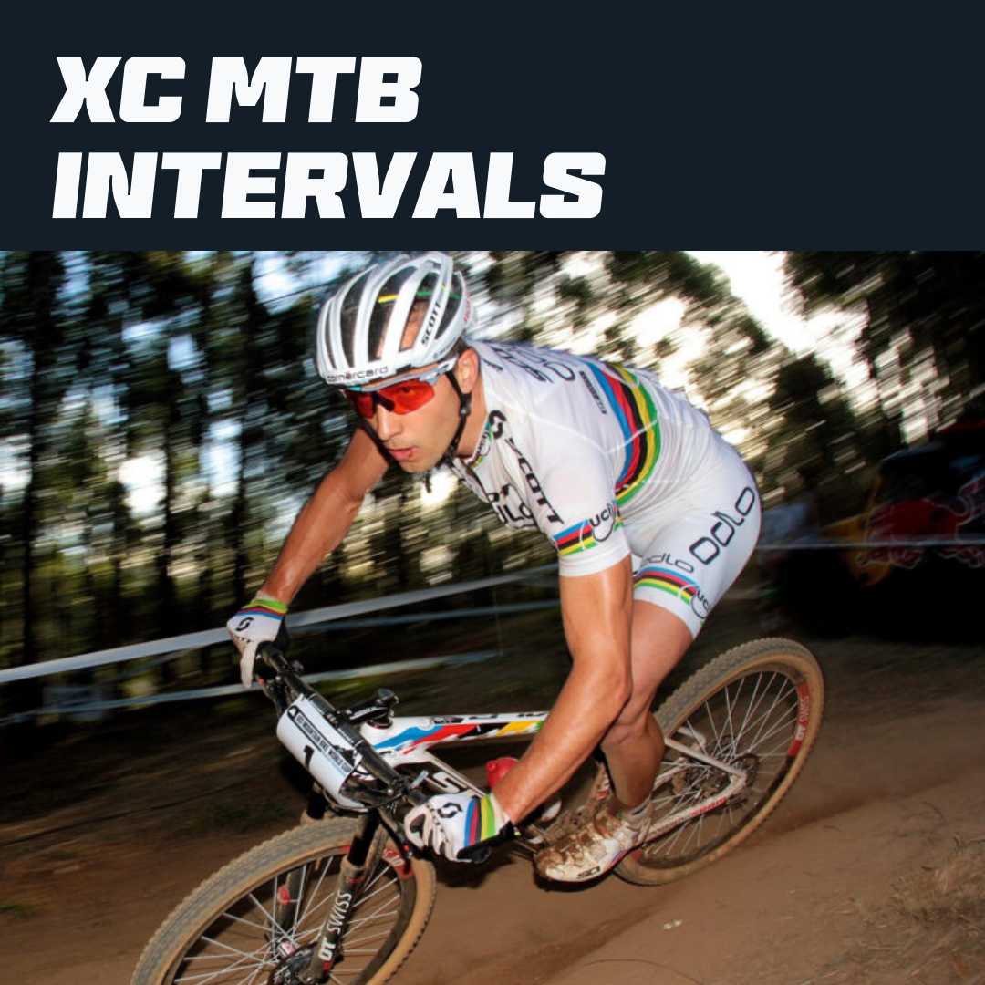 Intervals for Cross Country MTB