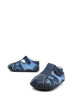 Brody 2287 Navy/Light Blue Pediped A