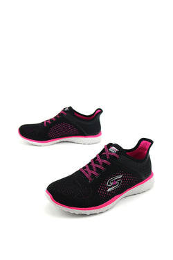 supersonic skechers womens 23327BKPK a