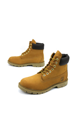 Men's 6-Inch Basic Waterproof Boots w/Padded Collar timberland wheat tb018094