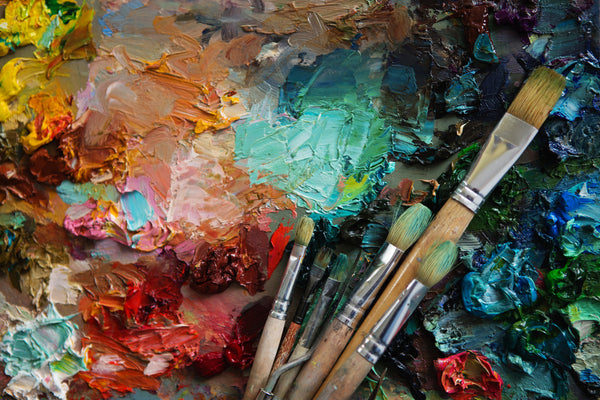 creative ways to use your art supplies: customize old brushes