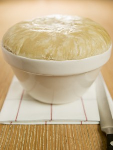Steamed Suet Pudding in a Pudding Basin