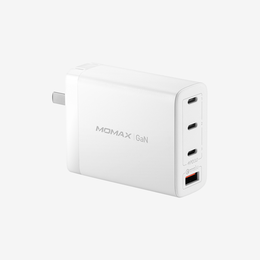 One Plug GaN 100W 4-Port Wall Charger