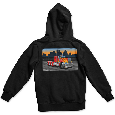 Minneapolis Trucker Hoodie - LubeZone Apparel
