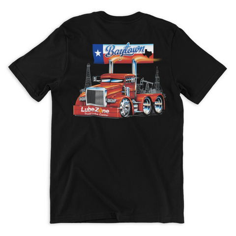 Baytown Trucker T-Shirt - LubeZone Apparel