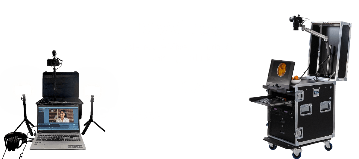ESS MYVideo ROAD and GO cases - designed by concert touring pro's and ready for corporate video.