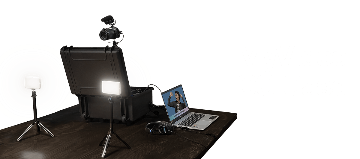 Professional Concert Touring Expertise in a box - MyVideo GO Case, a Turnkey Video and Photography Solution