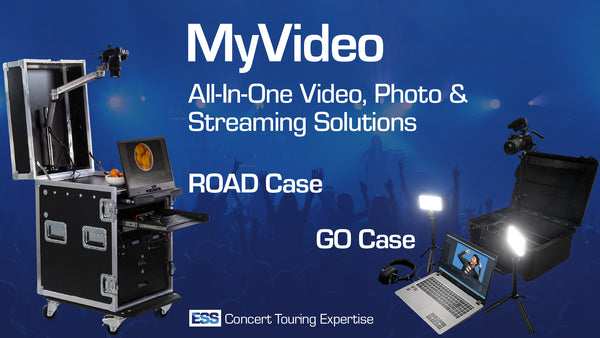 ESS MyVideo ROAD and GO Cases