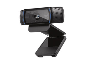Logitech C920 HD Pro Webcam for streaming, virtual meetings and working from home