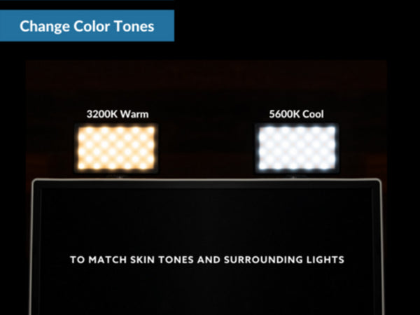 Change color temperature