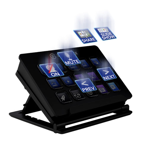 Exclusive plugins for the Elgato Stream Deck to help you improve your livestreaming, virtual meetings and presentations