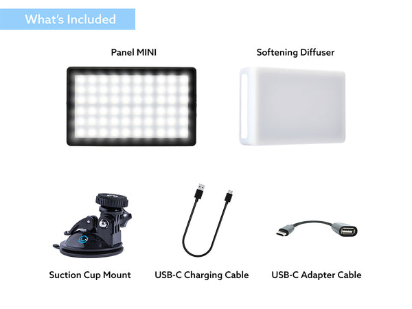 Lume Panel Mini rechargeable battery light