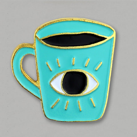 Enlightened Coffee Pin