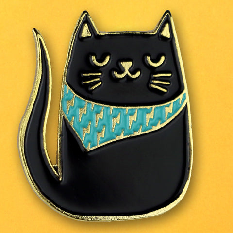 Bandana Cat Pin