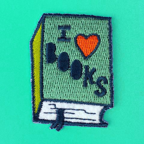 I Love Books Patch