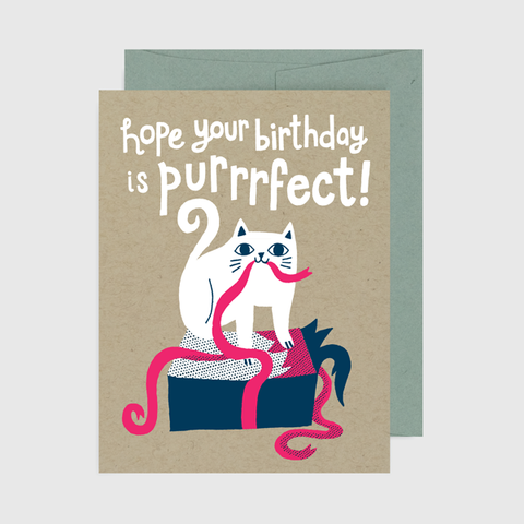 Hope Your Birthday is Purrfect
