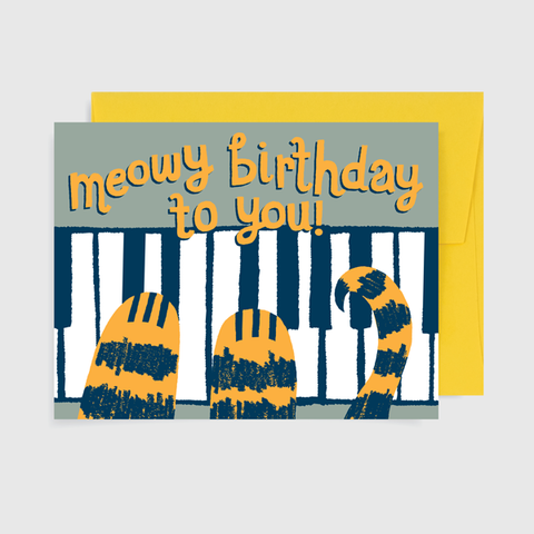 Meowy Birthday To You