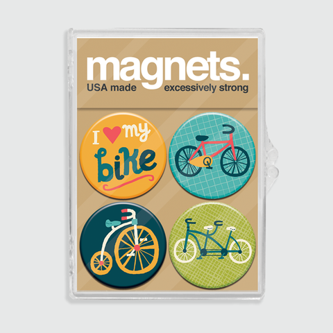 Bike Magnet Set
