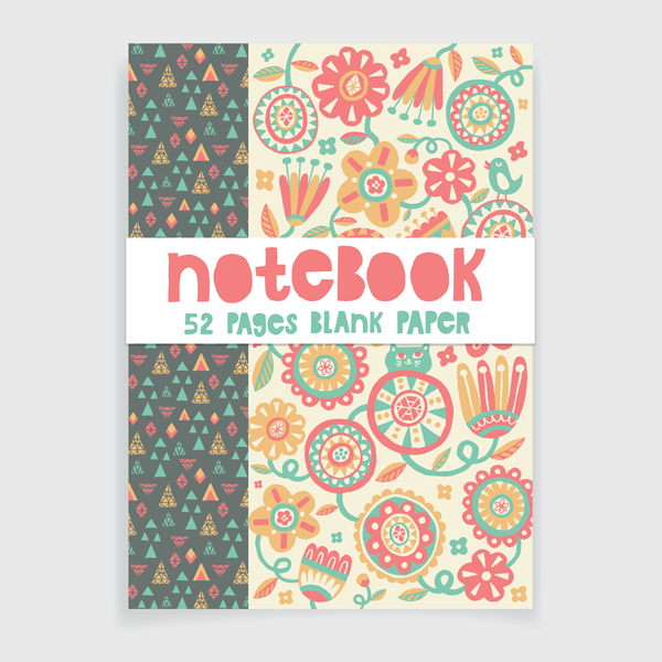 Floral Chase Notebook