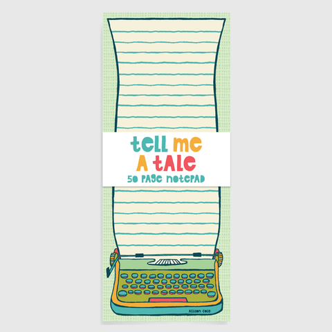Tell Me a Tale Notepad