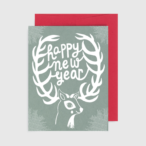 Happy New Year Deer