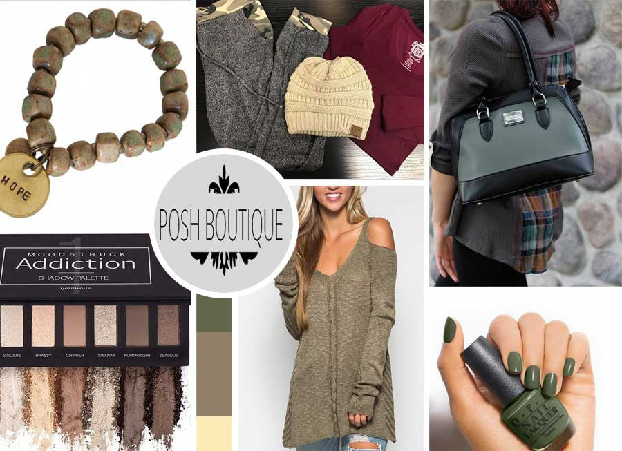 Olive! The hottest color this fall!