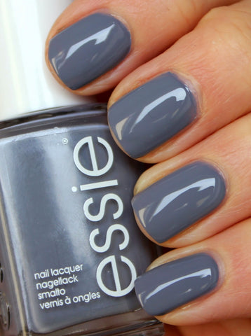 This Slate Gray Nail Polish Offers A Blue Undertone Which Is Perfect Because Fall All About I Love For Clean Yet Edge Look Color