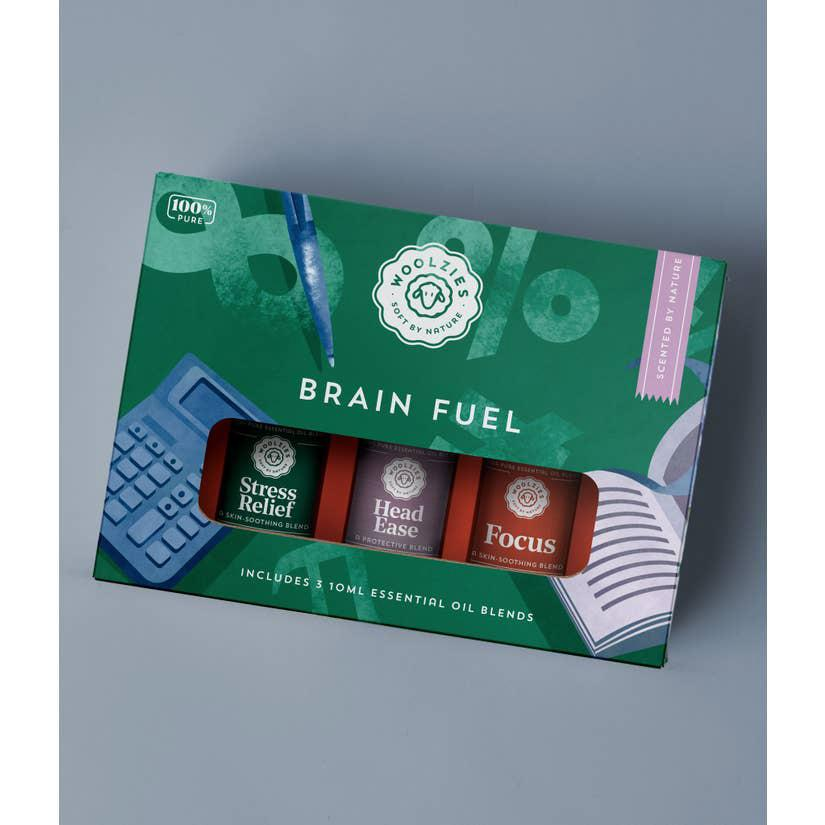 Brain Fuel Essential Oil Collection