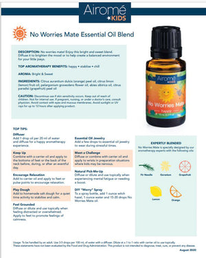 Kids Essential Oil - No Worries Mate