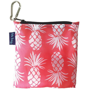 Eco-Friendly Shopping Bag & Carrying Pouch with Keychain - Multiple colors