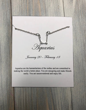 Constellation Necklace - Multiple Options