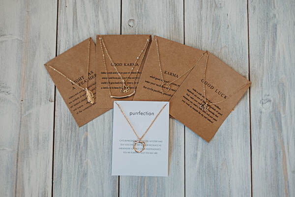 Dainty Necklace - Multiple Options