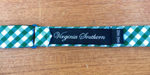 Handmade High Quality Green White Bow Tie