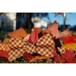 VA Tech Bow Tie Maroon and Orange Hokies
