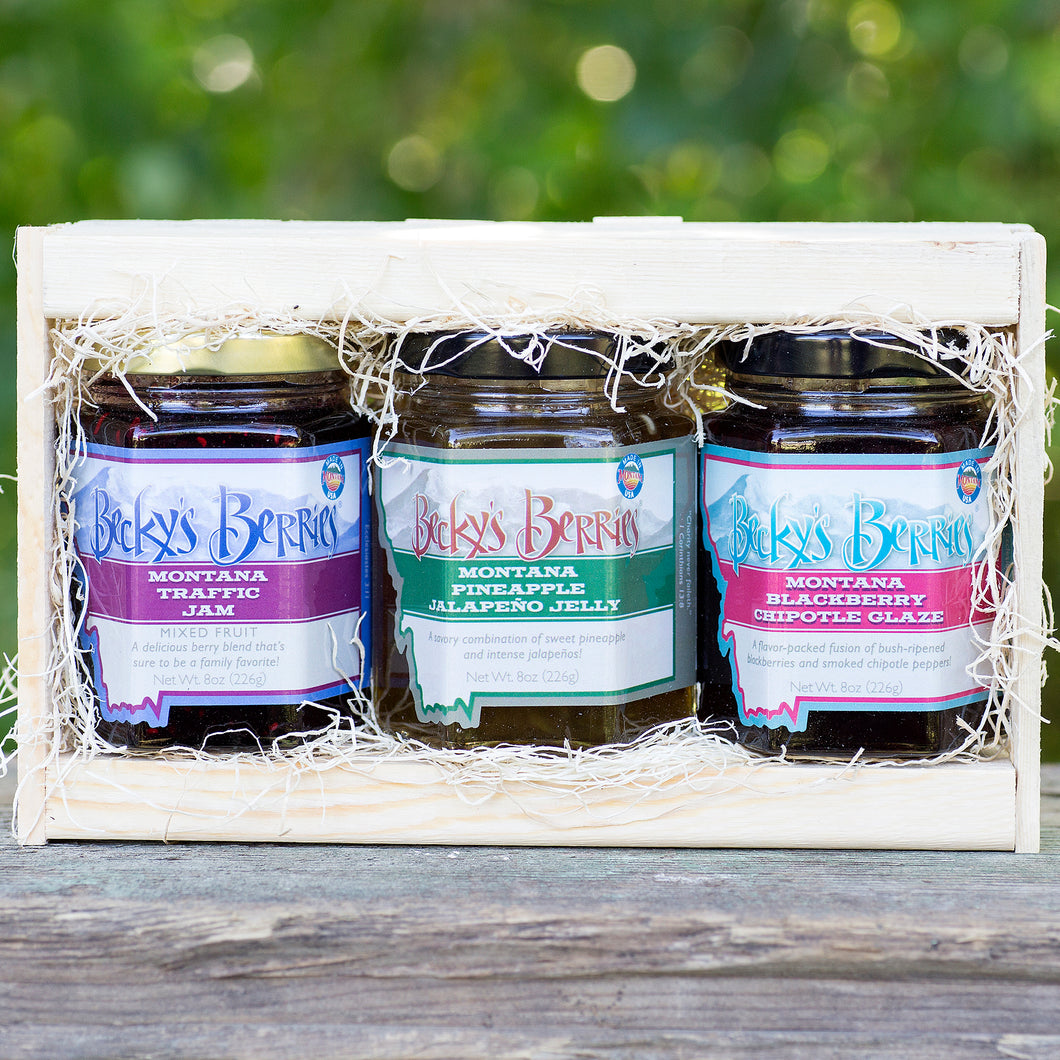 3-Jar Gift Box (8 oz. each)