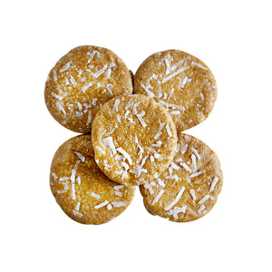 Raw Lemon Coconut Cookies (Gluten Free)