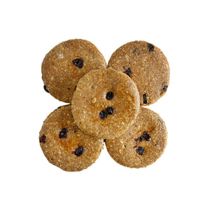 Raw Oatmeal Raisin Cookies (Gluten Free)