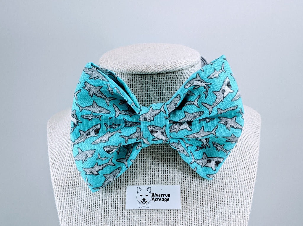 Sharks Bow Tie