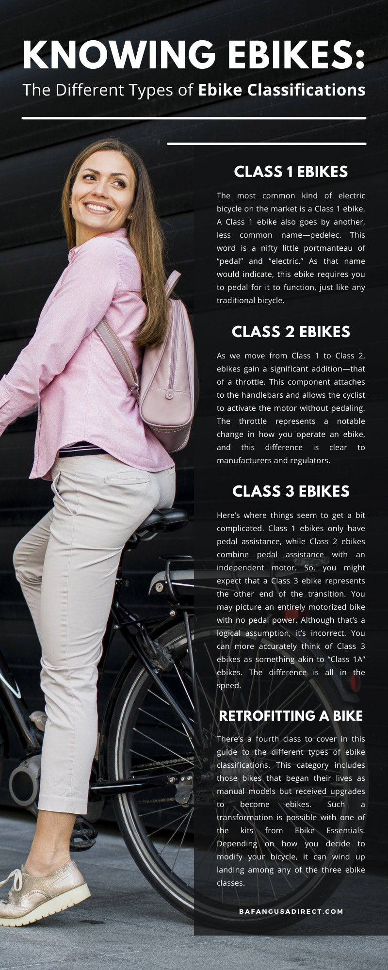 Knowing Ebikes: The Different Types of Ebike Classifications
