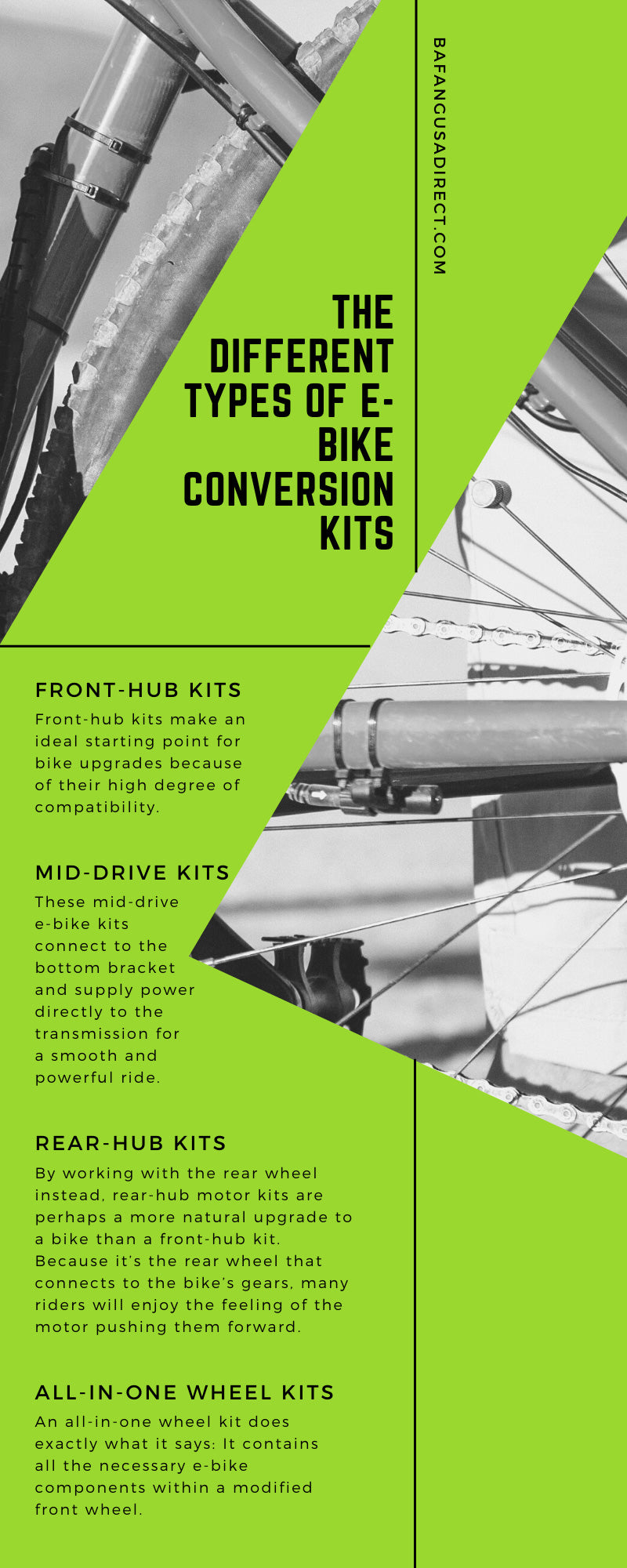 The Different Types of E-Bike Conversion Kits