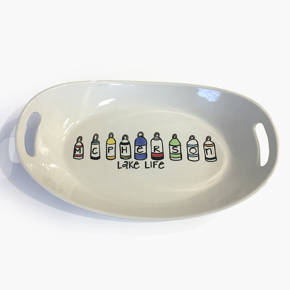 Buoy Two Handle Bowl