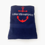 Personalized Anchor Towel