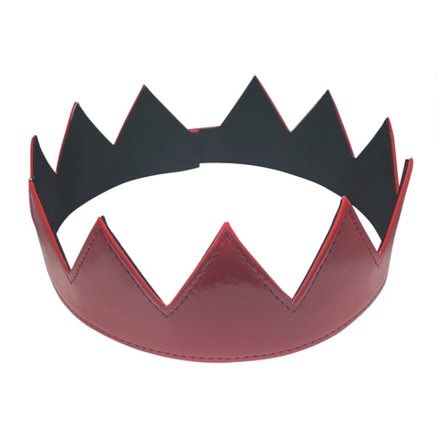 Red Patent Leather Crown