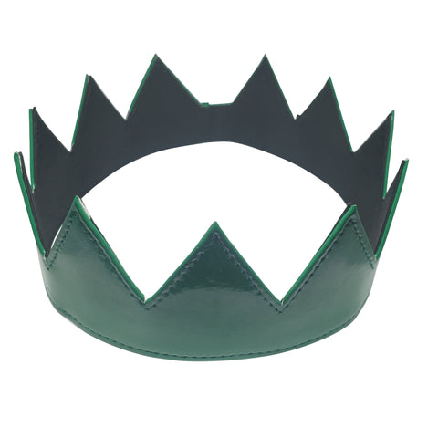 Green Patent Leather Crown
