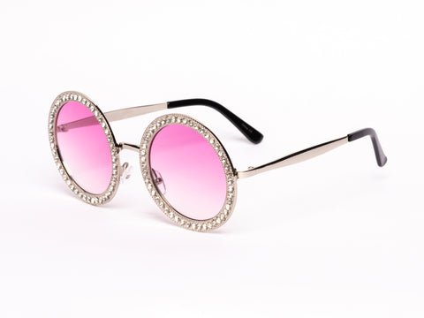 New Peace & Love Unisex Round Shades ( Various Colors )