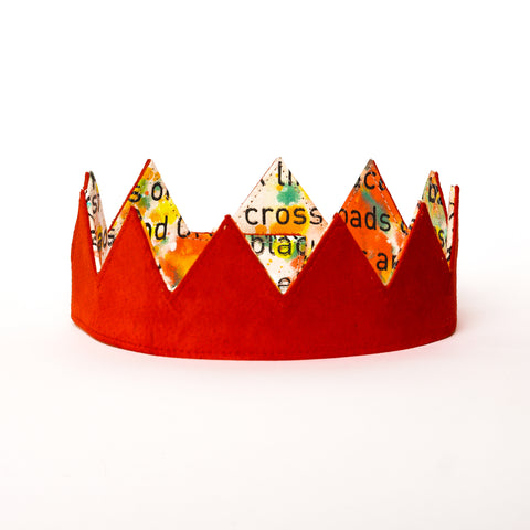 "J.Wright ""The Future is Ours""  Reversible Crown"