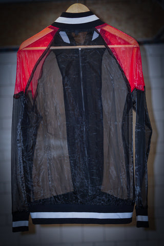KVNGS ONLY Sheer Bomber Jacket by OMGITSALPHIE
