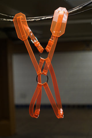 Burnt Orange Clear Harness