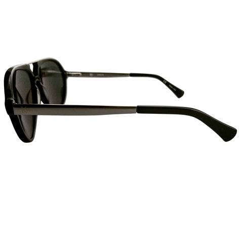 Black and Silver Kodsi Unisex Aviators