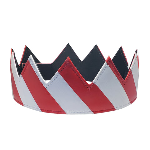 Candy Cane Crown Hand Painted BBV
